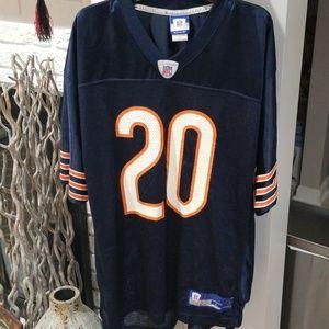 Reebok Chicago Bears Thomas Jones Jersey #20 L